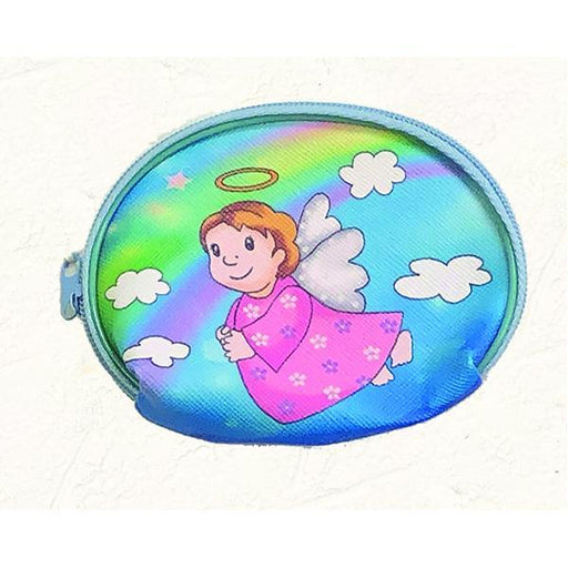 Angel - Girl Vinyl Rosary Pouch