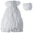 Baptism Taffeta -inchpuckered-inch embroidered pouf dress