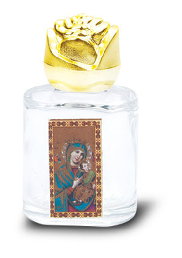 Our Lady Of Perpetual Help Holy Wtr Bottle Bonella Art