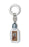 Our Lady Of Lourdes Holy Water Bottle With Key Chain