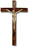 12-inch Crucifix With Metal Corpus