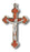 Cloverleaf Brown Crucifix