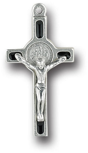 1 3/4-inch Saint Benedict Cross 6-Pack