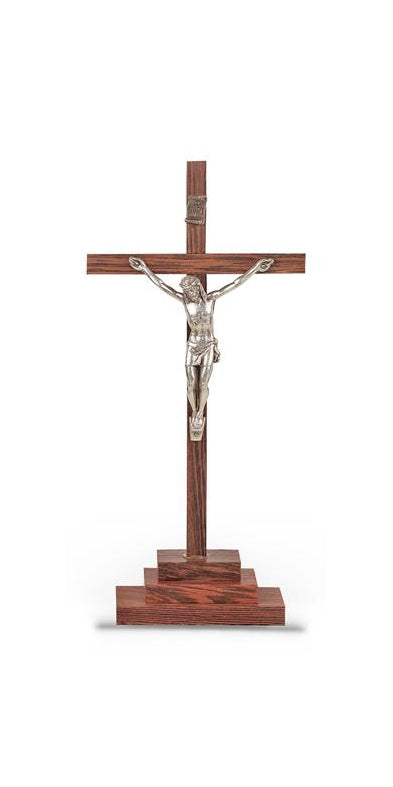 Crucifix On Base 6-inch