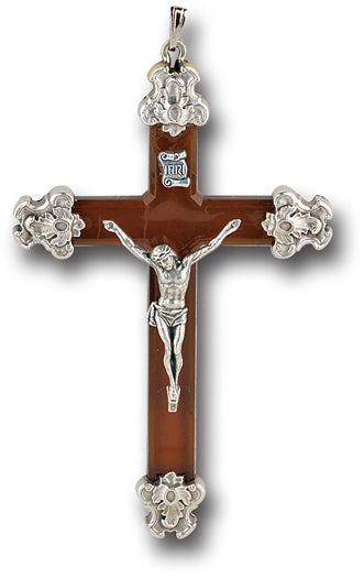 Brown Lucite Cross