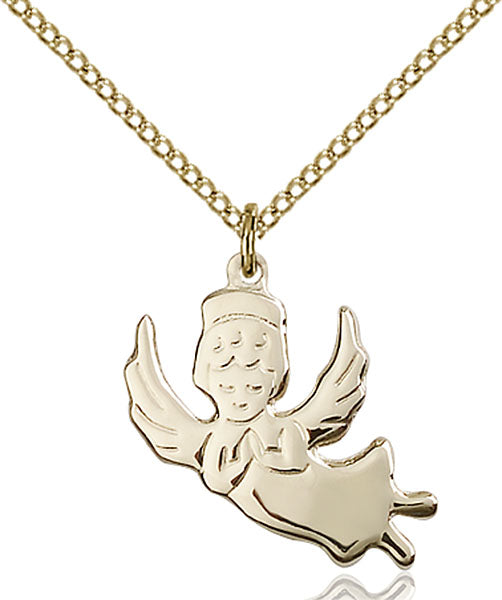 Gold-Filled Angel Necklace Set