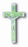 10-Pack - 3-inch Nickle Bound Luminous Crucifix