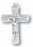 Trinity Crucifix Oxidized 2-inch 25-Pack