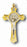 3-inch Gold Saint Benedict Cross