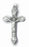 1 7/8-inch Oxidized Crucifix 25-Pack