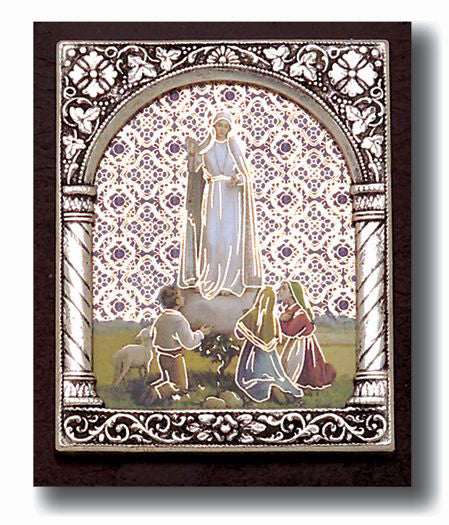 Our Lady Of Fatima Plaque