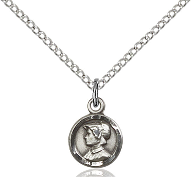 Sterling Silver Saint Elizabeth Ann Seton Necklace Set
