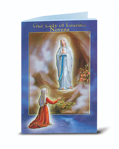 Our Lady Of Lourdes Novena Book 10-Pack