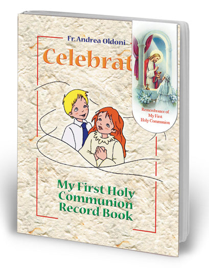 10-Pack - My 1St Holy Communion Record Book