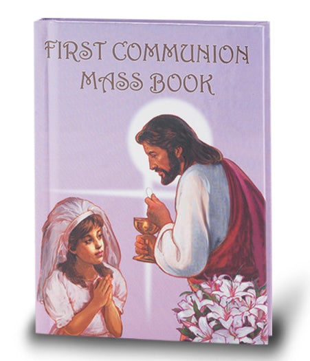 First Communion Girl Mass Book