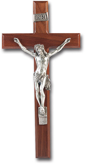 13-inch Walnut Cross With Antique