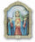Cathedral 9-inch Immaculate Heart Of Mary Plaque