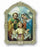 Cathedral 9-inch Plaque Of Holy Family