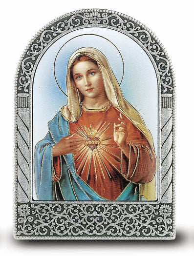 Immaculate Heart Of Mary Easel -