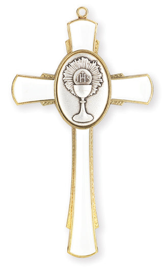 Gold Communion Cross With Chalice