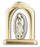 10-Pack - 1.5-inch Our Lady Of Guadalupe Arch Gold And Sil Standing Plaq