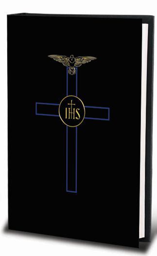 Blessed Trinity Missal with New Mass And Black/Blue