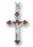 Red Enamel Crucifix On 18-inch Boxed