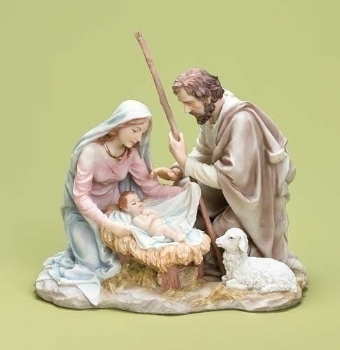 7.75-inchPastel Holy Family Tbletp