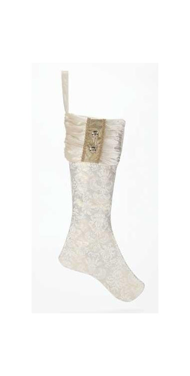 26-inch Christmas Stocking Gold/