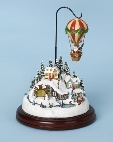 Musical 7.5-inch Hot Air Balloon Lighted