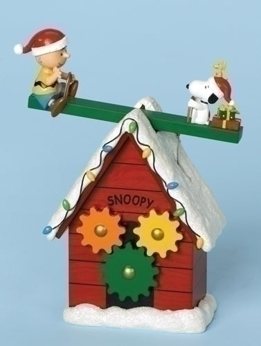 9-inch Snoopy Doghouse Teetr Tottr
