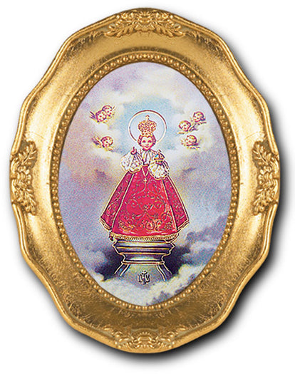 Infant Prague Gold Leaf Frame 3 1/2 X 4 1/2