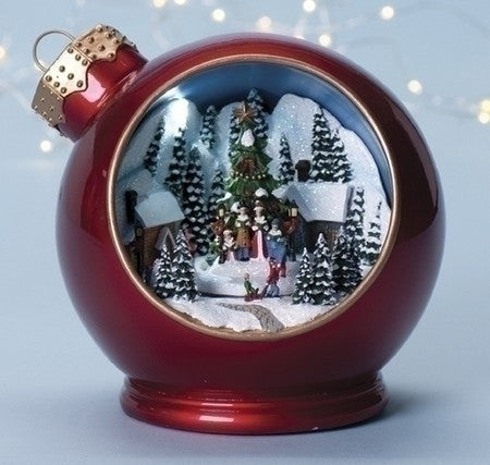 6-inch Musical Christmas Ornament Figurine