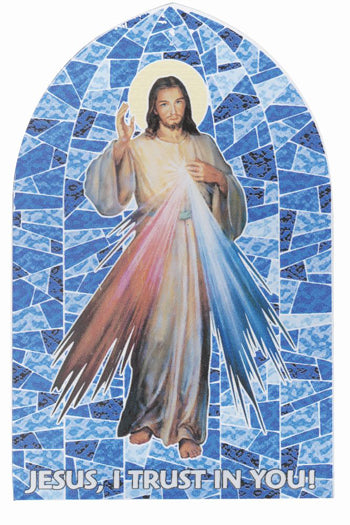 Divine Mercy Liturgical Glass Stand