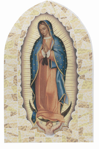 Our Lady Of Guadalupe Liturgical Glass Stand