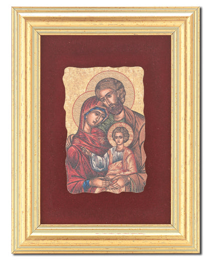 Holy Family Frescoe In 361R Frame