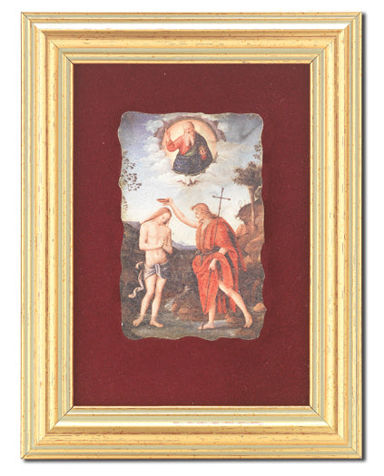 Baptism Of Jesus Frescoe In 361R Frame
