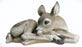 16.75-inchW Sleeping Deer Figurine