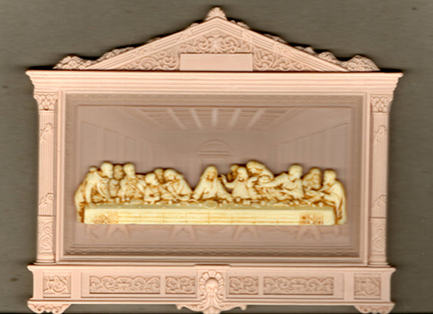 10-Pack - Plastic Last Supper Plaque