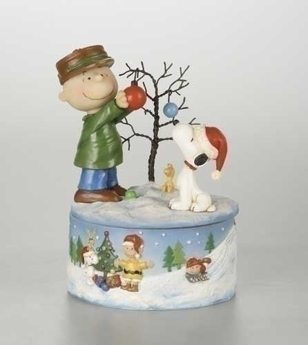 8-inchMusical Charlie/Snoopy Deco Tree