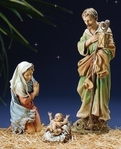 27-inch Scale Color Holy Family