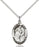 Sterling Silver Saint Ann Necklace Set