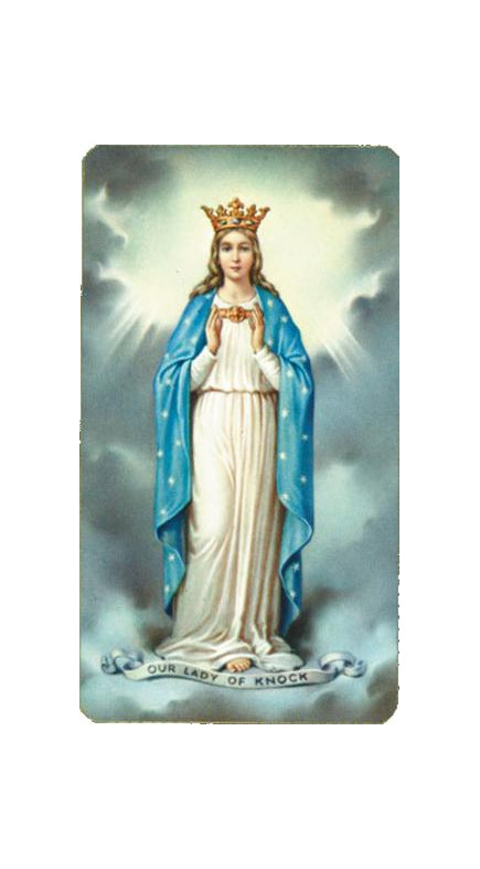100-Pack - Our Lady of Knock Holy Card