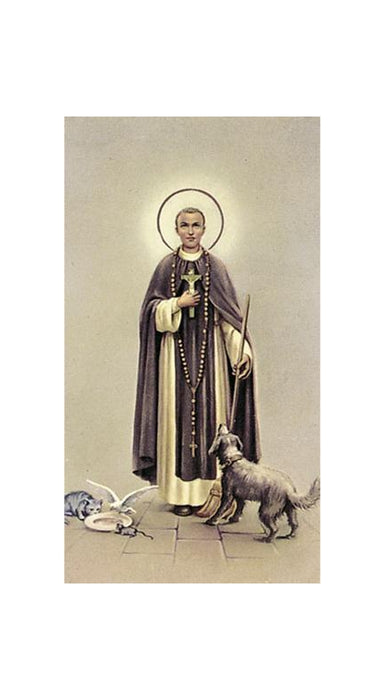 100-Pack - Saint Martin De Porres Holy Card
