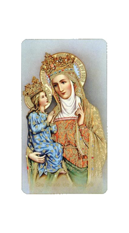 100-Pack - Saint Anne Debeaupre Holy Card