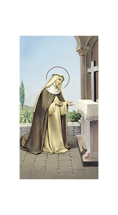 100-Pack - Saint Rose Of Lima Holy Card