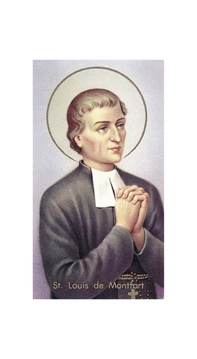 100-Pack - Saint Louis De Montfort Holy Card