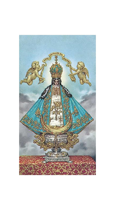 100-Pack - Our Lady Of San Juan De Los Lagos Holy Card