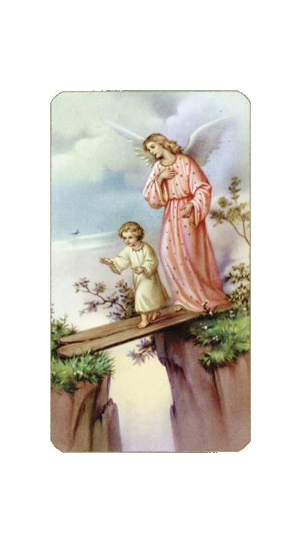 100-Pack - Guardian Angel Holy Card