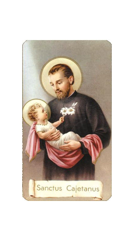 100-Pack - Saint Gaetamo Holy Card